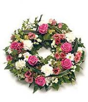 Buy Wreath flower from Flowers 4 Funeral