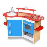 wooden corner kitchen new in box